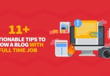 grow a blog with full time job