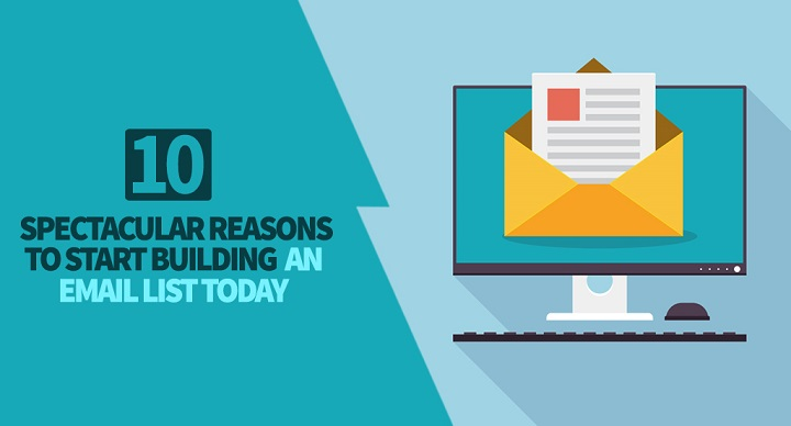 reasons to build an email list